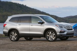 New Honda Pilot SUV